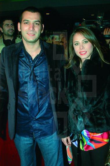 Мурат Йылдырым и его жена
